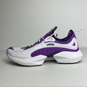 NEW Reebok Sole Fury 00 White/Purple Size 10